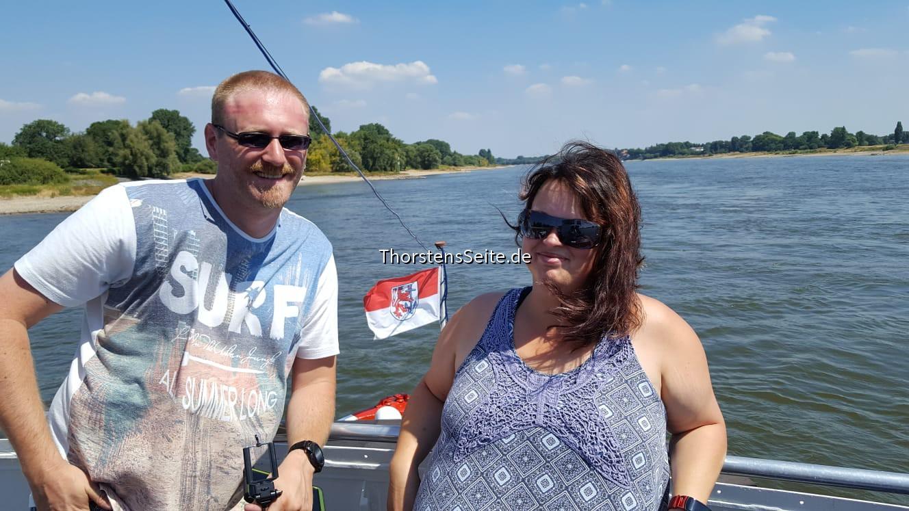 Schifffahrt auf deim Rhein