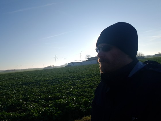 Thorsten im Feld