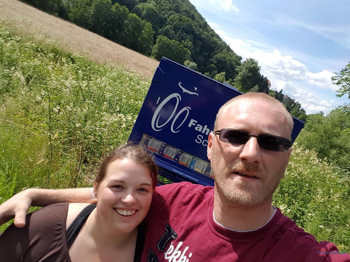 Fahrradtour nach Marburg und zurück