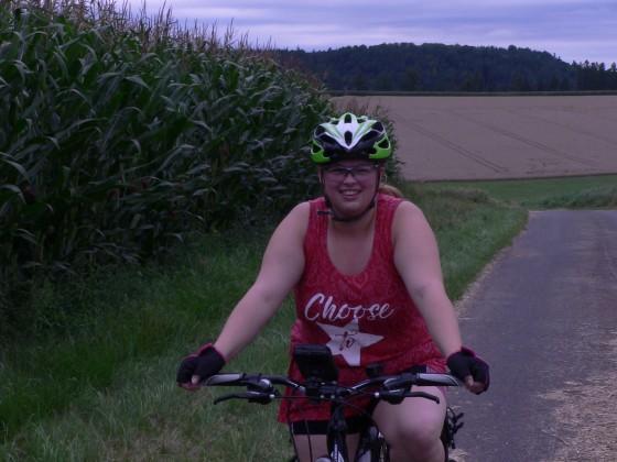 Geocaching Fahrradtour