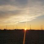 Sonnenaufgang über Erksdorf