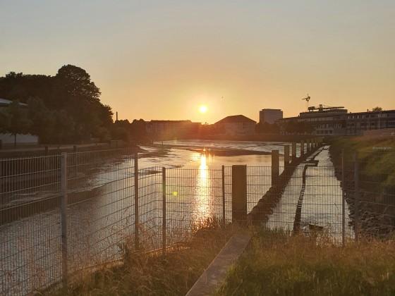 Sonnenuntergang Bremerhaven