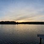 Sonnenuntergang über dem Sonnensee