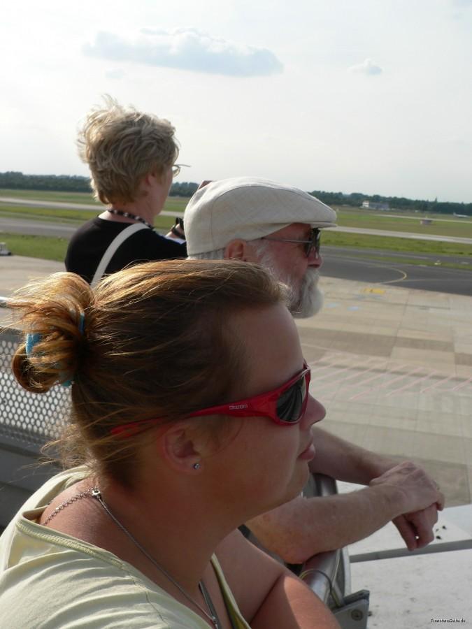 Flughafen besuch